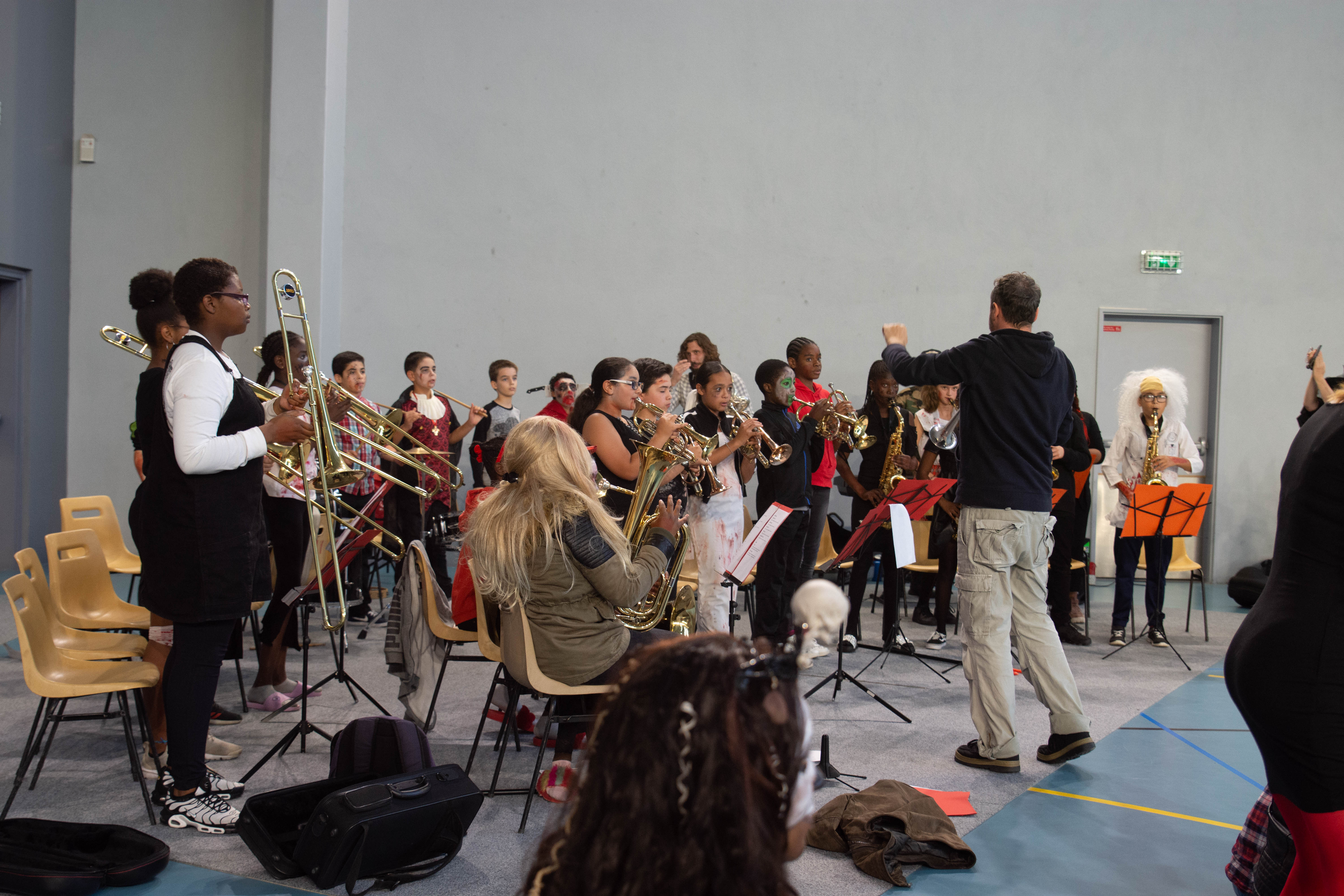 Halloween classe orchestre 2018
